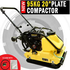 """NEW 95KG H-Power 20"""" Genuine Loncin Powered Compactor Ductile Cast Iron Plate"""