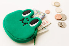 LINE Friends LEONARD Face Coin Purse Wallet Naver App Character Pouch Acc Gift