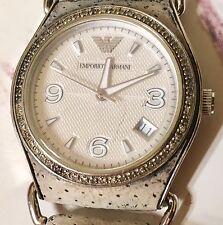 Emporio Armani Women's Watch with Diamonds