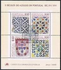 Portugal gestempeld 1981 blok 33 - 500 jaar Azulejos