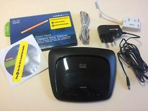 Wireless-N router ADSL2+ modem Cisco Linksys WAG120N