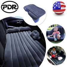 Inflatable Air Bed Car SUV Back Seat Mattress Travel Rest Sleep Camping Black US
