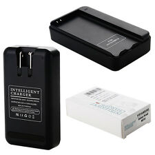 External Battery Wall Home USB US Charger For Samsung Galaxy Note 4 N910 Black