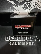Marvel Deadpool Club Merc 4-PIECE NAPKIN RING SET, Loot Crate EXCLUSIVE! - NEW!