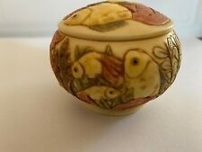 Martin Perry Studios Jardinia Trinket Box - Fantail Fish (Retired)