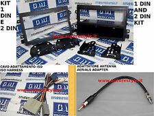 Cavi e Mascherina RADIO NAVIGATORI MONITOR 1 DIN 2 Din Ford MUSTANG 2004 AL 2011