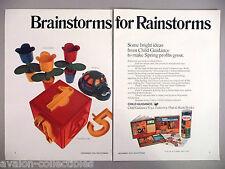 Child Guidance Toys PRINT AD - 1972 ~Tinkertoy, Platt & Monk Books,Counting Cube