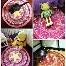 Cardcaptor Sakura Magic Circle Carpet Mat Home Decor Area Rugs Round Carpet New