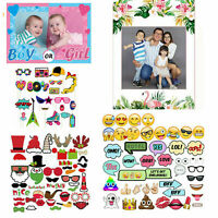 Funny Party Props Photo Booth Selfie Moustache Birthday Christmas Wedding Party