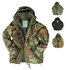 NEU Bundeswehr Jacke Nässeschutz mit Fleece Feldjacke Regenjacke Armee Parka