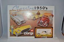 Corgi Toys Card board display shop sign old shop stock all original Scarce item