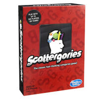 Scattergories Game from Hasbro - NEW Version