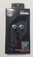 Carolina Panthers iHip Premium Audio Earphones Earbuds iPhone iPod w/ microphone