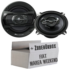 Pioneer Haut-Parleurs Fiat Marea Week-End 3-Wege Boxe Porte Avant Voiture