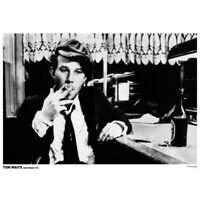 "Tom Waits Poster - Amsterdam 1976 - 84 x 60 cm 33"" x 24"""