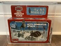 STAR WARS HOTH GENERATOR ATTACK MICRO MISB AFA 75+ KENNER VINTAGE 1982 ECHO BASE
