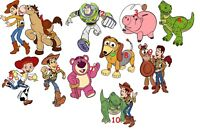 10 TOY STORY WALL STICKER WALL DECALS 3 SIZES VINYL / PHOTOPAPER