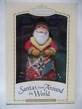Hallmark 2004 Santas From Around the World Ornament U.S of A