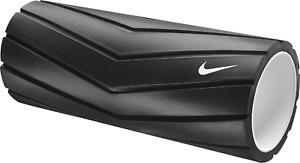 """NWT Nike 13"""" Recovery Foam Roller, 85617, Black w/ white Nike Swoosh N.100.0816"""