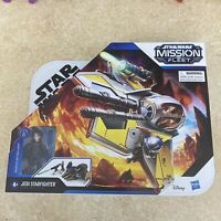 STAR WARS MISSION FLEET JEDI STARFIGHTER WITH ANAKIN SKYWALKER NIB HASBRO 2020