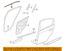 NISSAN OEM 07-12 Sentra Exterior-Rear-Applique Window Trim Right 82818ET000