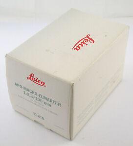 LEICA APO-Macro-Elmarit R 2,8/100 100 100mm F2,8 2,8 absolut prime adapt. M A7