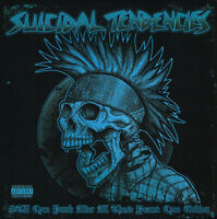 Suicidal Tendencies – Still Cyco Punk After All These Years blue vinyl lp ltd