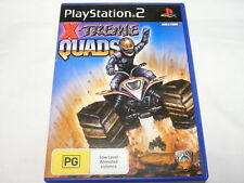 "XTREME QUADS ,  PS 2, PAL  ""preowned"""