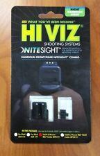 New HiViz NiteSight Front/Rear Set For Smith & Wesson M&P Full/Compact Handguns