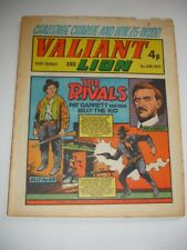 VALIANT And LION comic 8th June 1974.