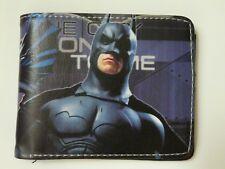Cartera De Batman fresco con cremallera moneda. Gratis P&P/I/