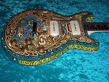 Gibson Les Paul Special Psychedelic vintage paint job art guitar