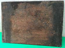 PLAQUE D'ÂTRE EN  FONTE POUR CHEMINEE 35 cm sur 50 cm