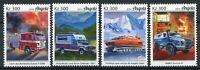 Angola Special Transport Stamps 2019 MNH Fire Engines Police Ambulance 4v Set