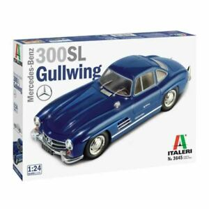 Italeri 1/24 Mercedes-Benz 300 SL Gullwing Kit (New)