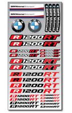 R1200RT Motorrad Aufkleber blatt Laminiert stickers bmw R1200 RT Motorsport Rot