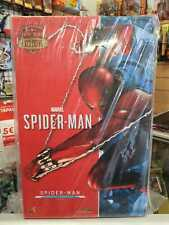 SPIDER-MAN SCARLET SUIT 1/6 ACTION FIGURE HOT TOYS Sideshow Exclusive VGM34 NEW!