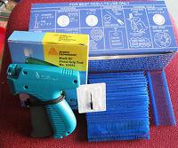 """10651 AVERY DENNISON Tagging Gun + 5000 1"""" BLUE Barbs"""