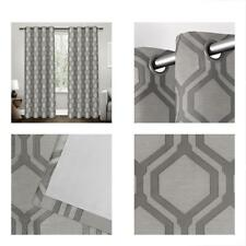 Linen Blackout Window Curtain Pane Exclusive Home Domino Heavyweight Jacquard