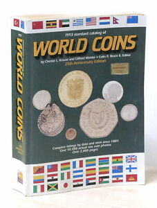 Numismatica - 1993 Standard Catalog of World Coins - 20th Anniversary Edition
