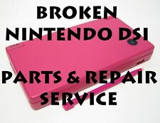 AS IS Broken Nintendo DSi System Fix/Parts and Repair Service!