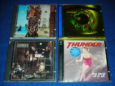 5 CD THUNDER the trill of it all & BEHIND CLOSED DOOR