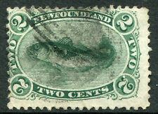 NEWFOUNDLAND ~ #24, 27, 30 & 31 Nice Used Issues ALBERT VICTORIA CODFISH ~ S5463