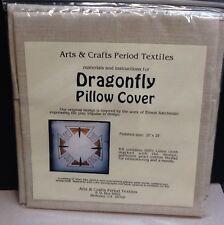 Arts andCrafts Period Textiles NIB Dragonfly pillow kit