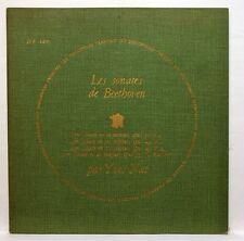 DF 126 - YVES NAT - BEETHOVEN sonatas 17, 19, 20 & 21 DISCOPHILES FRANCAIS LP EX