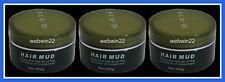 3pcs x ECO - VII PRO Hair Mud 85g A Mixed Botanicals molding clay paste gel hair
