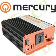 More details for mercury 12vdc 600w soft start modified sine wave inverters tvs, lighting, fans