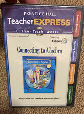 Prentice Hall Connecting To Algebra: TeacherExpress w/ Manual PC MAC CD tests +
