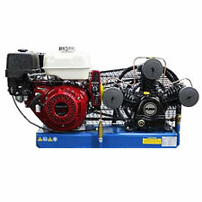 Puma 8-HP Tankless Truck Mount Air Compressor w/ Electric Start Honda Engine
