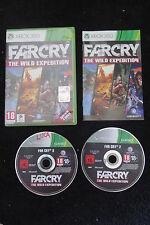 XBOX 360 : FAR CRY : THE WILD EXPEDITION - Completo, ITA ! Quattro giochi in uno